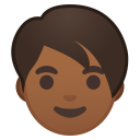 Adult medium dark skin tone icon
