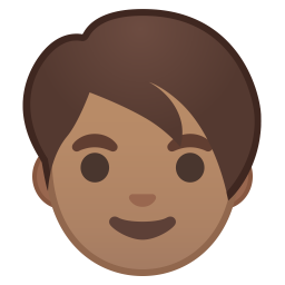 Adult medium skin tone icon