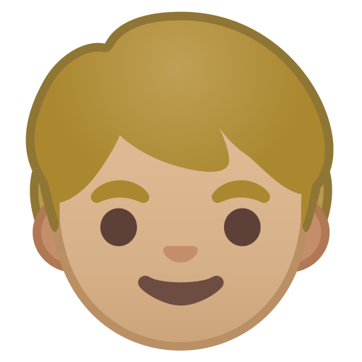 10130-child-medium-light-skin-tone icon