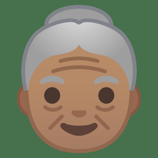 10179-old-woman-medium-skin-tone icon