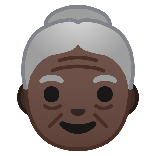 10181-old-woman-dark-skin-tone icon