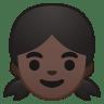 10145-girl-dark-skin-tone icon