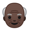 10175-old-man-dark-skin-tone icon