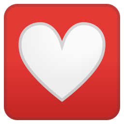 Heart decoration icon