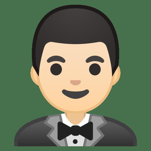 10674-man-in-tuxedo-light-skin-tone icon