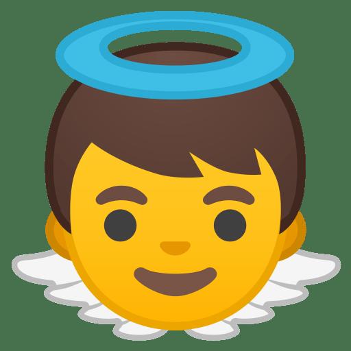 Baby Angel Icon Noto Emoji People Family Love Iconset