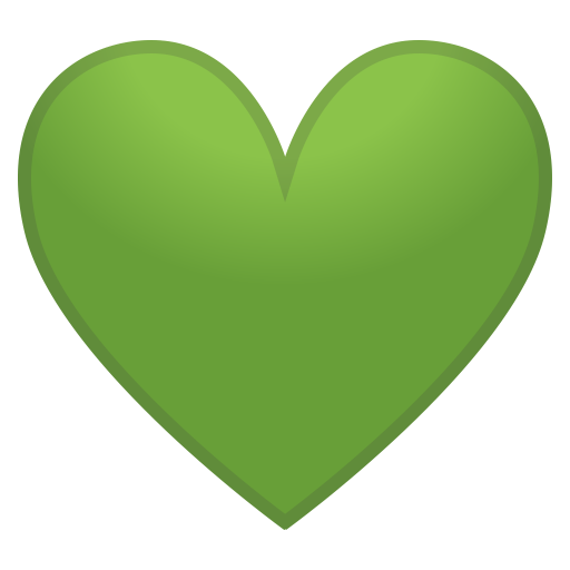 12145-green-heart icon