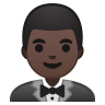 10678-man-in-tuxedo-dark-skin-tone icon