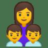 11893-family-woman-boy-boy icon