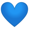 12144-blue-heart icon