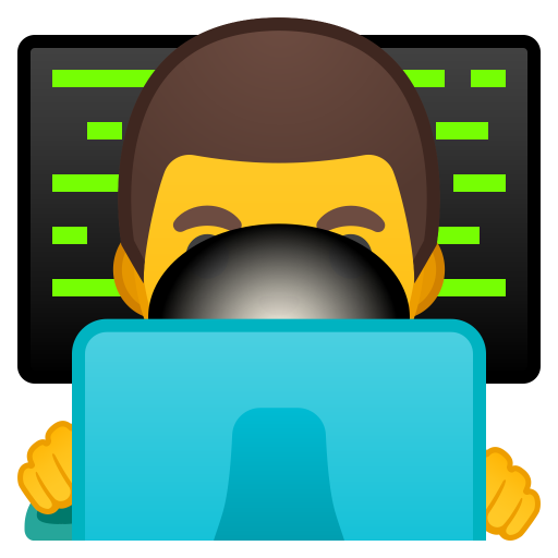 Man technologist icon