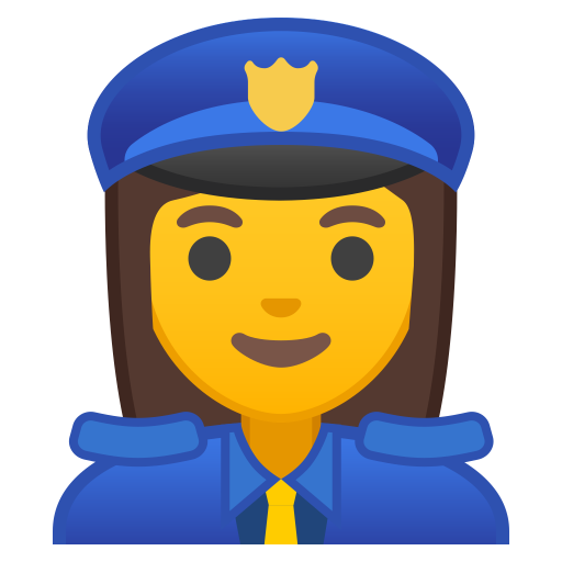 10429-woman-police-officer icon
