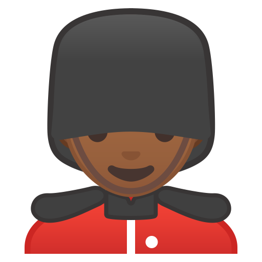 10490-man-guard-medium-dark-skin-tone icon
