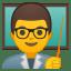 Man teacher icon
