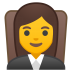 10243-woman-judge icon