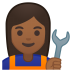 10288-woman-mechanic-medium-dark-skin-tone icon
