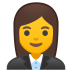 10308-woman-office-worker icon