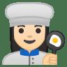 10273-woman-cook-light-skin-tone icon