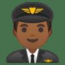 10371-man-pilot-medium-dark-skin-tone icon