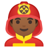 10402-man-firefighter-medium-dark-skin-tone icon