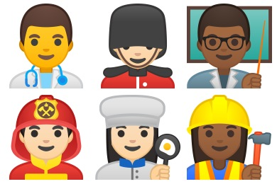 Noto Emoji People Profession Icons