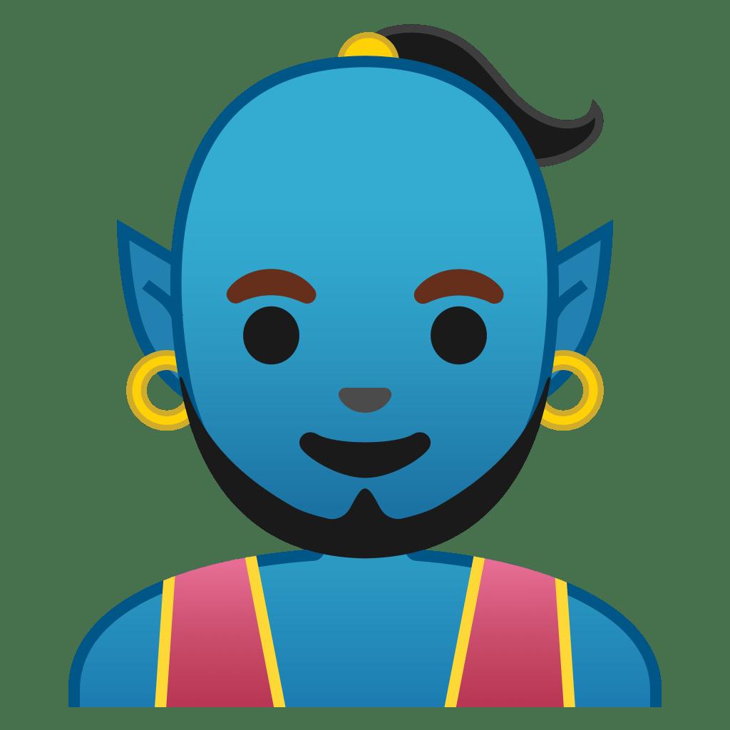 Man genie Icon | Noto Emoji People Stories Iconset | Google for Genie Icon  535wja