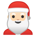 Santa Claus light skin tone icon