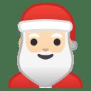 Santa Claus light skin tone icon