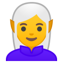 Woman elf icon