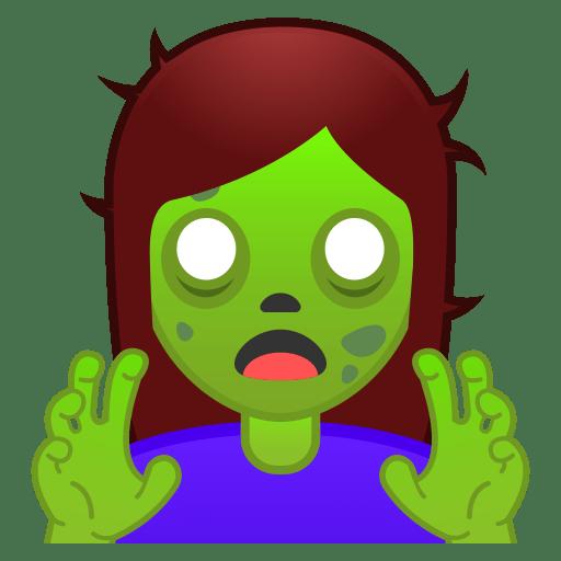 10932-woman-zombie icon