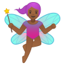 10820-woman-fairy-medium-dark-skin-tone icon