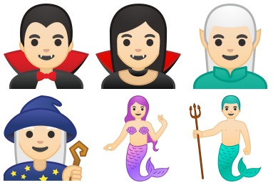 Noto Emoji People Stories Icons