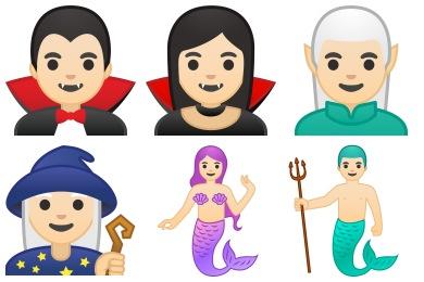 Noto Emoji People Stories Icons