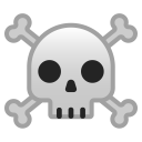 Skull and crossbones icon