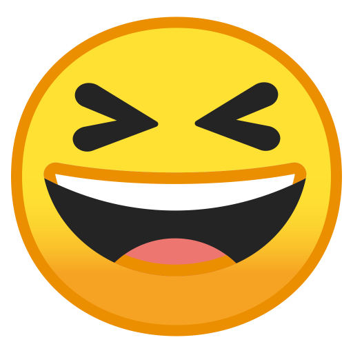10008-grinning-squinting-face icon
