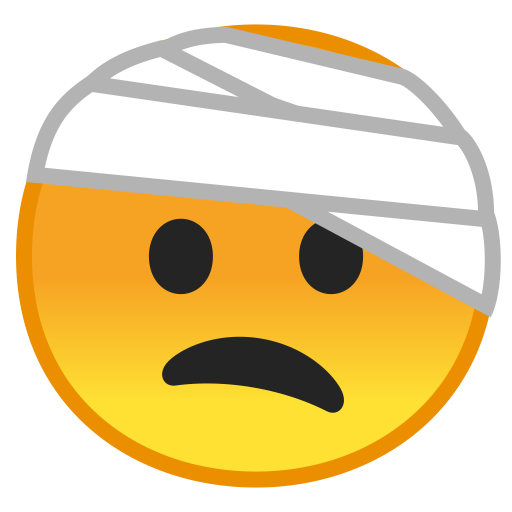 10078-face-with-head-bandage icon