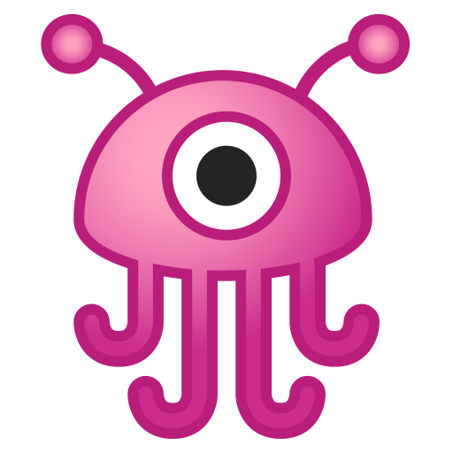 Alien monster icon