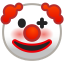 10094-clown-face icon