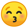 10018-kissing-face-with-closed-eyes icon