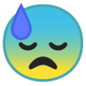 10045-downcast-face-with-sweat icon