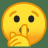 10088-shushing-face icon