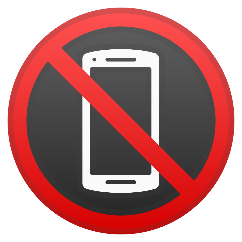 No mobile phones Icon   Noto Emoji Symbols Iconset   Google