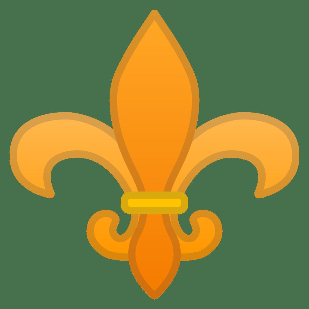 Fleur De Lis Icon Noto Emoji Symbols Iconset Google