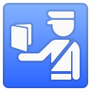 Passport control icon