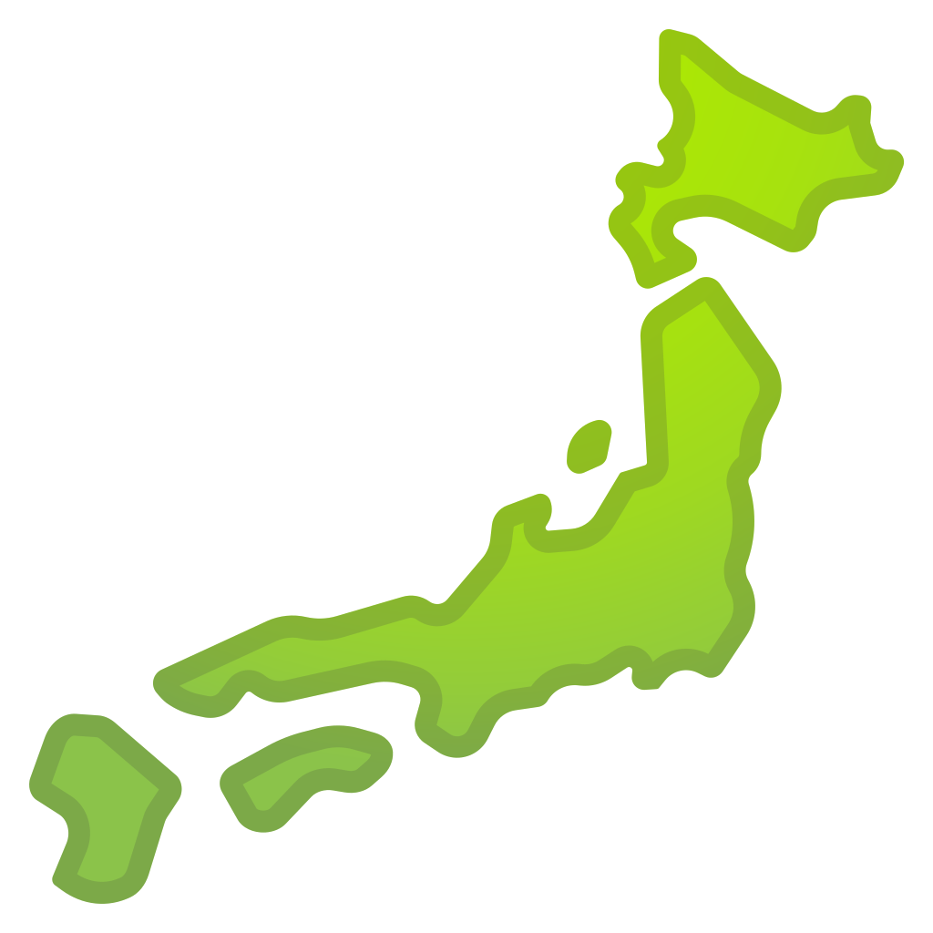 Map of Japan Icon   Noto Emoji Travel & Places Iconset   Google