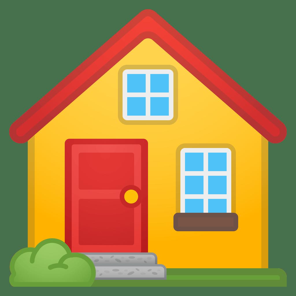 House Icon   Noto Emoji Travel & Places Iconset   Google