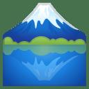 Mount fuji icon