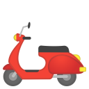 Motor scooter icon