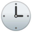 Three o clock icon