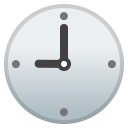 Nine o clock icon